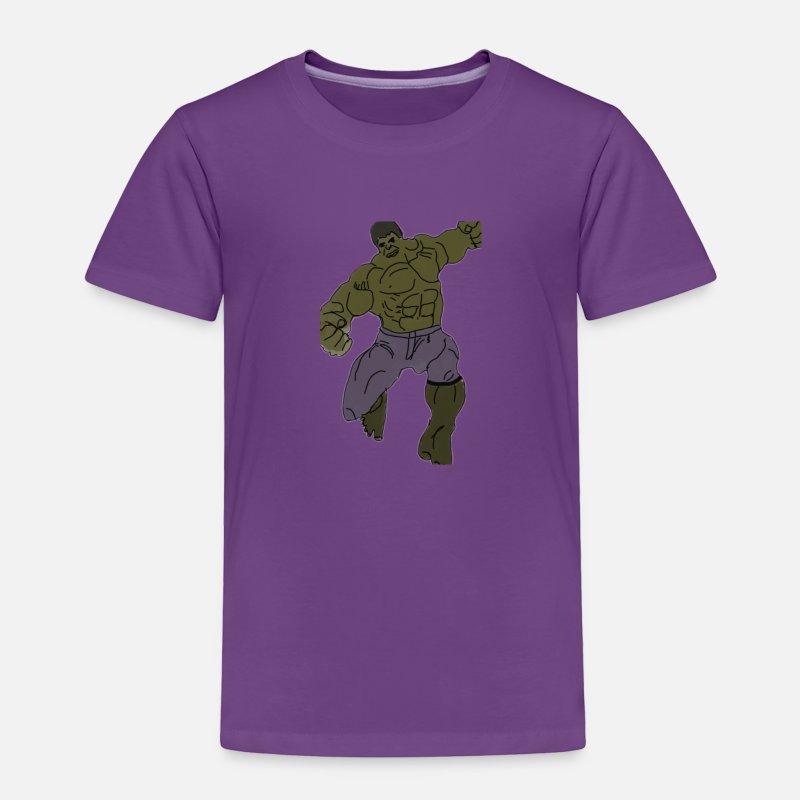c4263bd5 Hulk Baby Clothing - hulk - Toddler Premium T-Shirt purple