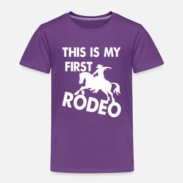 Western Riding Rodeo, riding, western, T-shirt - Toddler Premium T-Shirt