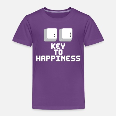 Established Key to happiness - Toddler Premium T-Shirt