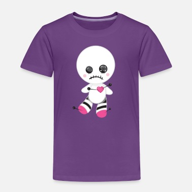 Lonely Sad Love Story Love Voodoo Doll Hate Valentines - Toddler Premium T-Shirt