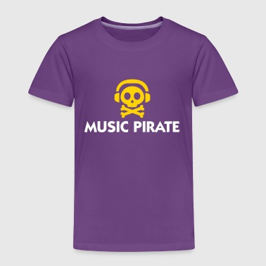 Music Pirate - Toddler Premium T-Shirt