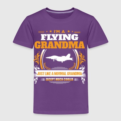 Flying Grandma Shirt Gift Idea - Toddler Premium T-Shirt