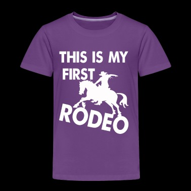 Rodeo, riding, western, T-shirt - Toddler Premium T-Shirt