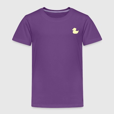 DuckieYellow - Toddler Premium T-Shirt