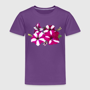 Four Red And White Petunias M - Toddler Premium T-Shirt