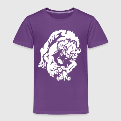 wild_male_lion - Toddler Premium T-Shirt