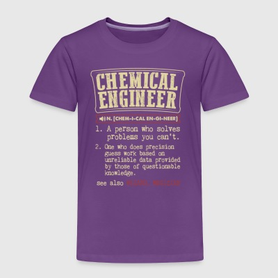 Funny Engineer Meaning T Shirt - Toddler Premium T-Shirt