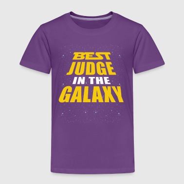 Best Judge In The Galaxy - Toddler Premium T-Shirt
