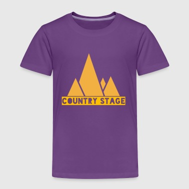Country Stage - Toddler Premium T-Shirt