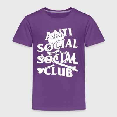 Anti Social Social Club - Toddler Premium T-Shirt
