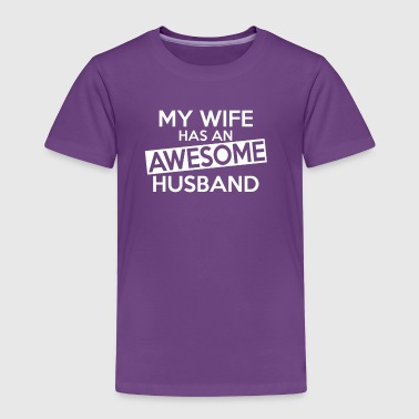 HUSBAND - Toddler Premium T-Shirt