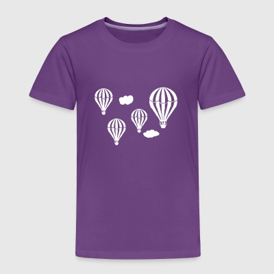 Hot Air Balloons Tee Shirt - Toddler Premium T-Shirt