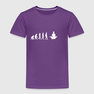 EVOLUTION yoga meditation - Toddler Premium T-Shirt
