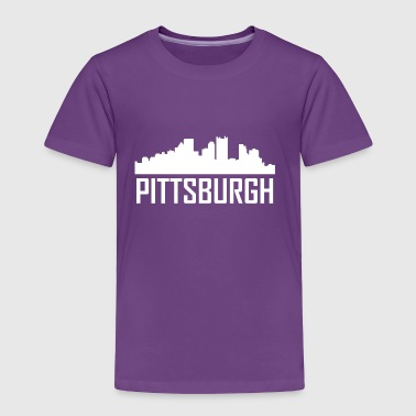 Pittsburgh Pennsylvania City Skyline - Toddler Premium T-Shirt
