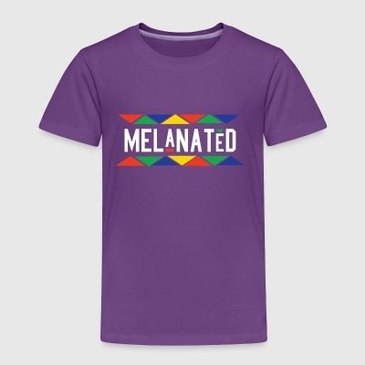Melanated - Toddler Premium T-Shirt