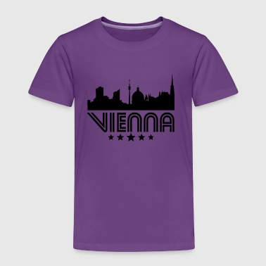 Retro Vienna Skyline - Toddler Premium T-Shirt