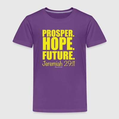 Prosper Hope Future - Yellow - Toddler Premium T-Shirt