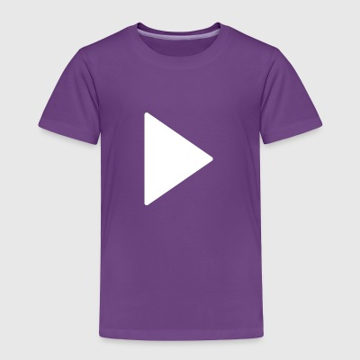 play button 1 - Toddler Premium T-Shirt