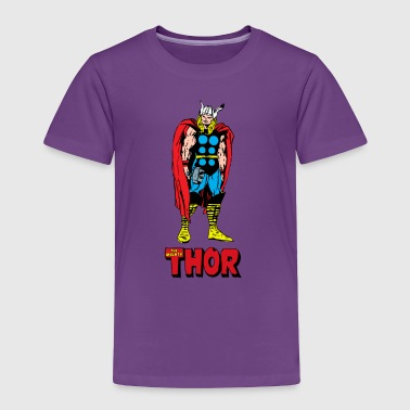 Full Colored 80's The Mighty Thor - Toddler Premium T-Shirt