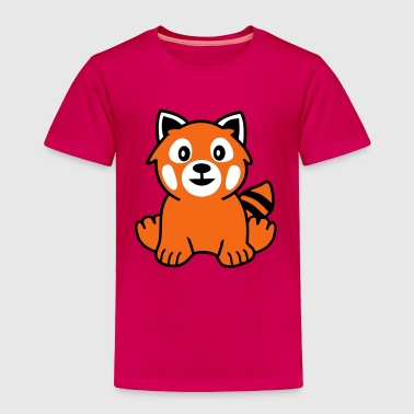 Red Panda - Toddler Premium T-Shirt