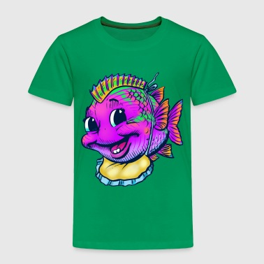 Baby Fish - Toddler Premium T-Shirt