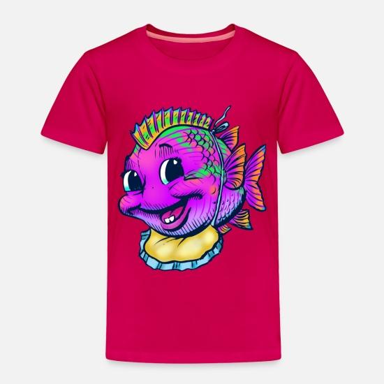 9993aa94 Babyproducts Baby Clothing - Baby Fish - Toddler Premium T-Shirt dark pink