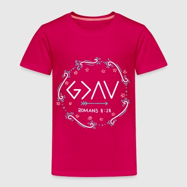 God is Greater Than The Highs And Lows - Toddler Premium T-Shirt