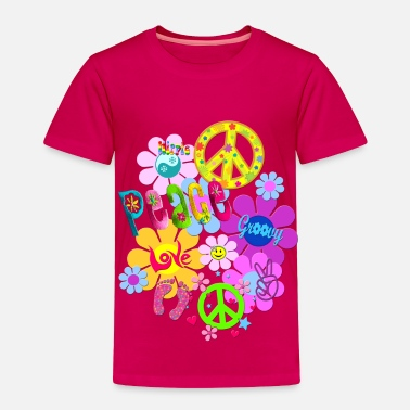 Hippie hippie - Toddler Premium T-Shirt