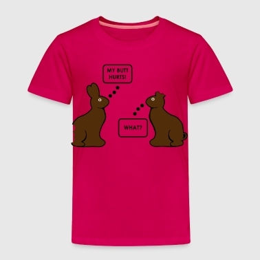 Chocolate Bunnies - Toddler Premium T-Shirt
