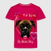 I Love My Boxer Dog - Toddler Premium T-Shirt