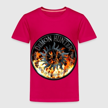 5 Rings Demon hunter protection Symbal Ring Patch Flames 5 - Toddler Premium T-Shirt
