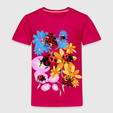 Lucky-Love Lady Bugs - Toddler Premium T-Shirt