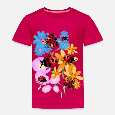 Bug Lucky-Love Lady Bugs - Toddler Premium T-Shirt