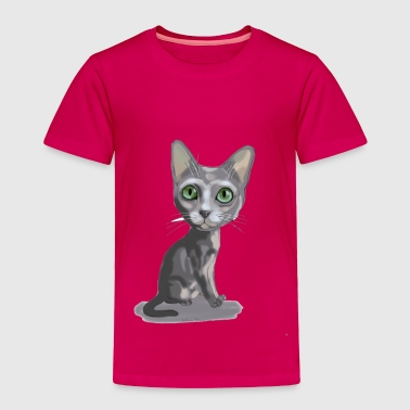 Korat Caricature - Toddler Premium T-Shirt