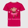 Best Daughter (girl monkey) - Toddler Premium T-Shirt