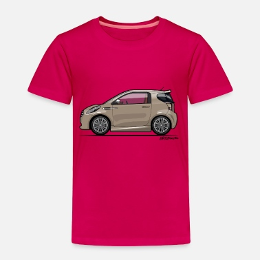 British Cars AM Cygnet Blonde Metallic Micro Car - Toddler Premium T-Shirt