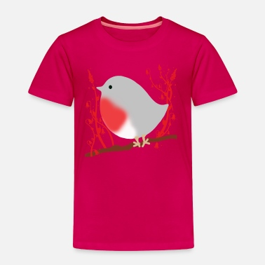Robin Bird robin - Toddler Premium T-Shirt