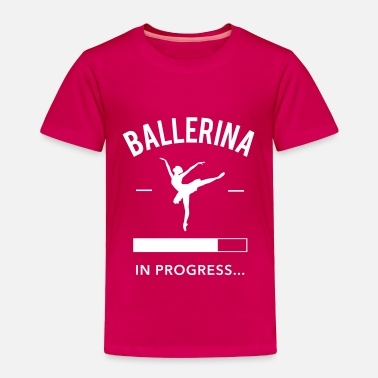 Ballerina Swan Lake Ballerina in Progress - Toddler Premium T-Shirt