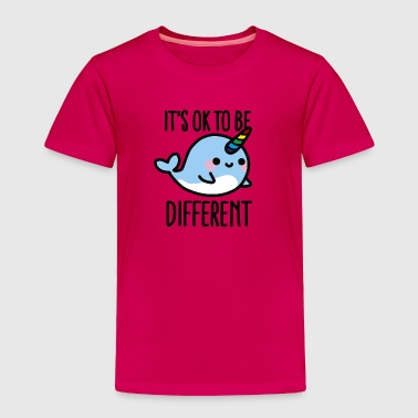 It's ok to be different - Toddler Premium T-Shirt
