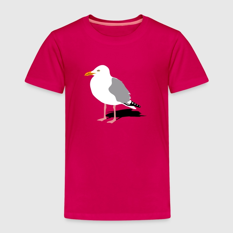 sea gull seagull harbour bird beach sailing - Toddler Premium T-Shirt