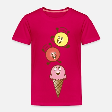 Ice Cream ice cream - Toddler Premium T-Shirt