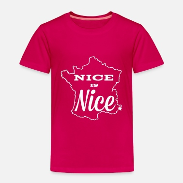 Nice Nice is Nice - Toddler Premium T-Shirt