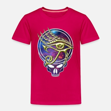 Grateful Dead Grateful Dead Style Skull with Eye of Horus - Toddler Premium T-Shirt