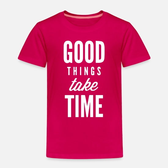 Movie Baby Clothing - Good Thing - Toddler Premium T-Shirt dark pink