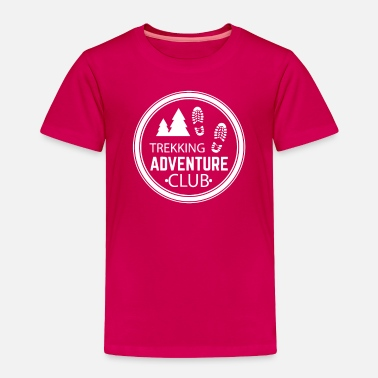 Humour Trekking Adventure Club Funny T Shirt - Toddler Premium T-Shirt