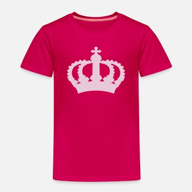 Name Keep Calm with this Custom Crown and Custom Text - Toddler Premium T-Shirt