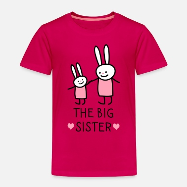 Big The big Sister Rabbits - Toddler Premium T-Shirt