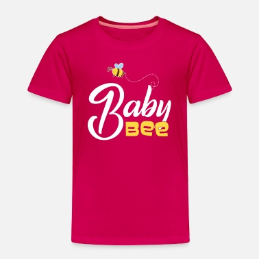Daughter Baby Bee Mother and Daughter Matching - Toddler Premium T-Shirt