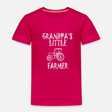 Farmer Grandpas little farmer - Toddler Premium T-Shirt