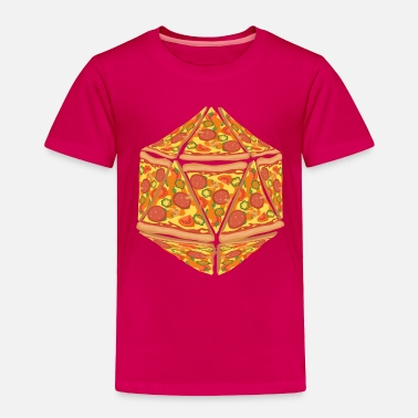 Elf Pizza Dice Dungeon RPG tabletop gamer gift - Toddler Premium T-Shirt